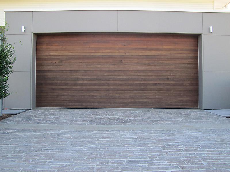 Shiplap door panel light gray paneling on refrigerator for 14 wide garage door